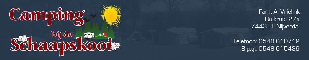 Camping bij de Schaapskooi